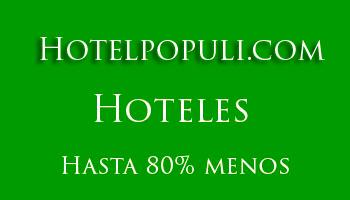 Hoteles en barrio de Las Cortes en Madrid