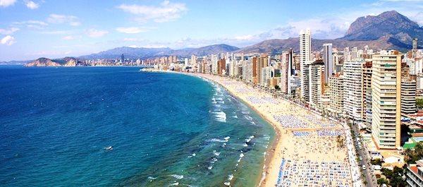 Buscador de hoteles cerca de la Costa Blanca en Alicante