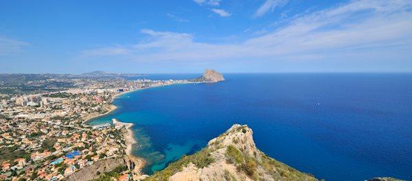 Buscar hoteles en Calpe Alicante